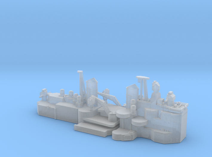 1/700 HMS Vanguard superstructure 3d printed