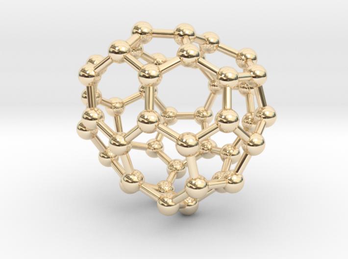 0707 Fullerene c44-79 c1 3d printed