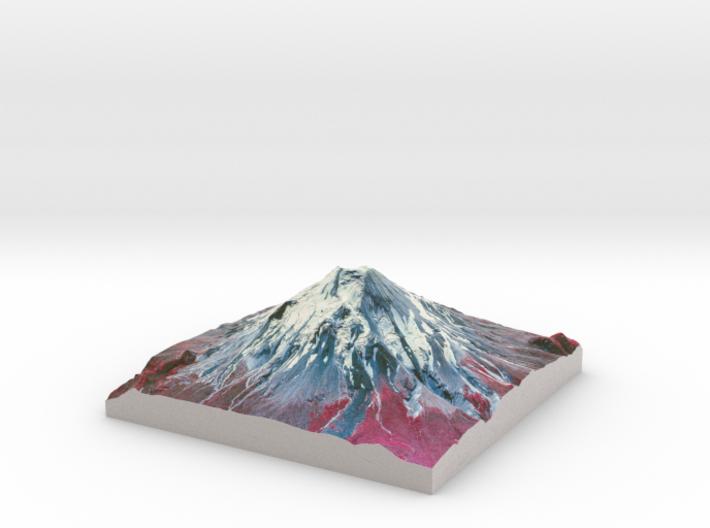"Mount St. Helens (Pre-1980) False Color: 6""x6"" 3d printed"