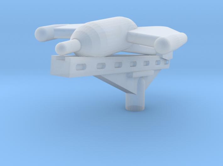 EQ30 X-7 ATGM on Launch Rail (1/48) 3d printed