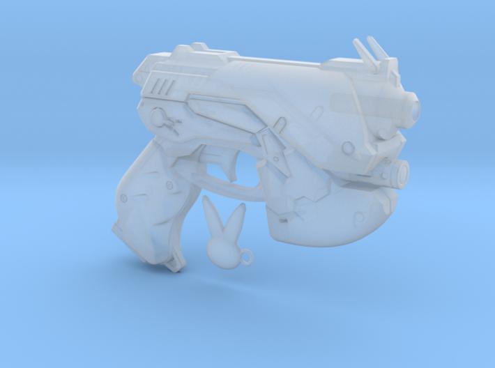 1/3rd scale D.VA Type Pistol 3d printed