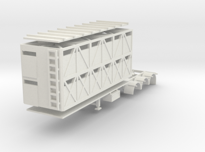 000635 Caddle Trailer A 3d printed
