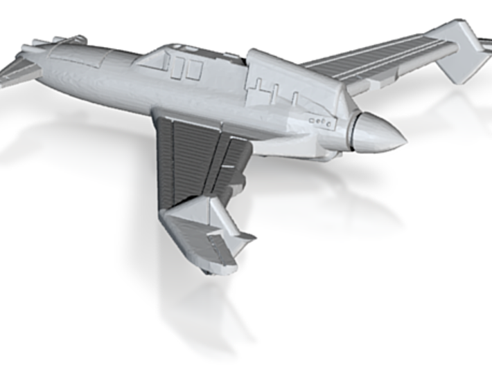 Pulp55 ww2 fighter 3d printed