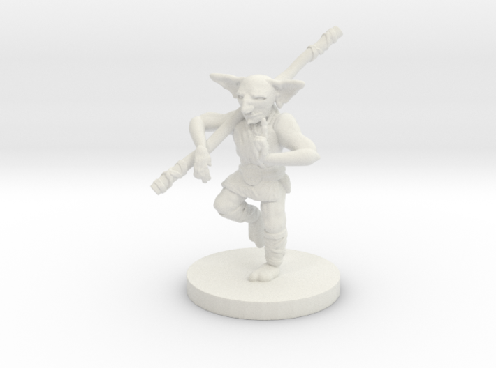 Goblin Monk - Small Humanoid 3d printed