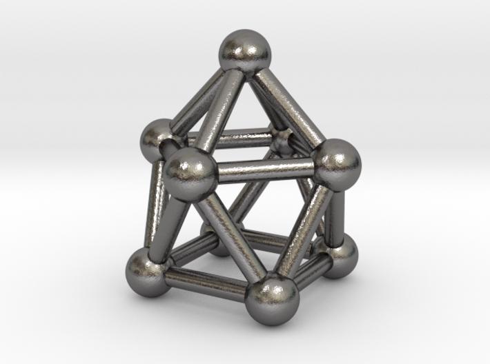 0748 J10 Gyroelongated Square Pyramid (a=1cm) #3 3d printed