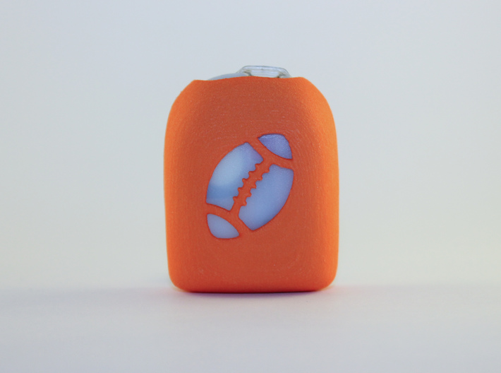 Football 1 - Omnipod Pod Cover 3d printed