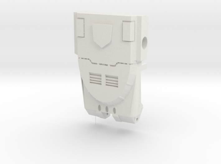 Ko Os Warbotron Chest  3d printed