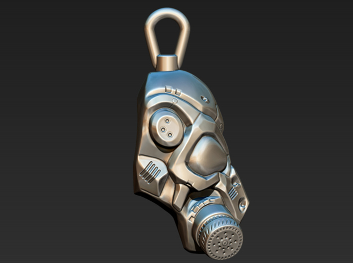 Scifi Gas mask  3d printed