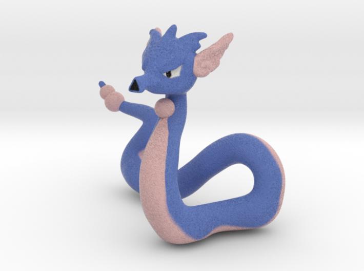 A Seadra And Dragonaire 3d printed