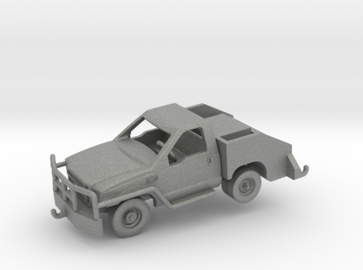 1/144 F350 Bobtail Tow Truck (finished) 3d printed
