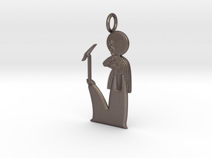 Amun-Ra(m) amulet 3d printed