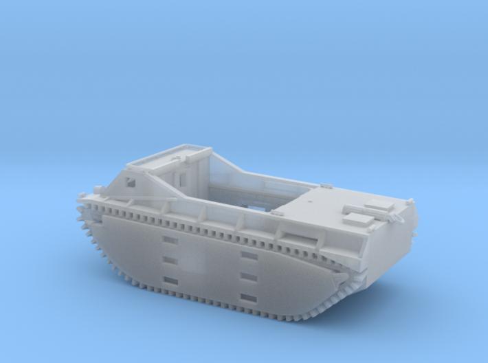 1/144 LVT-1 Amtrac 3d printed