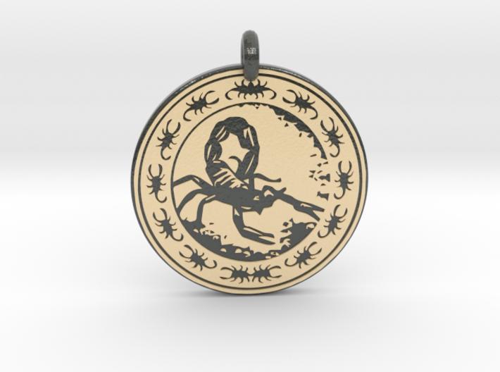 Scorpion Animal Totem Pendant 3d printed