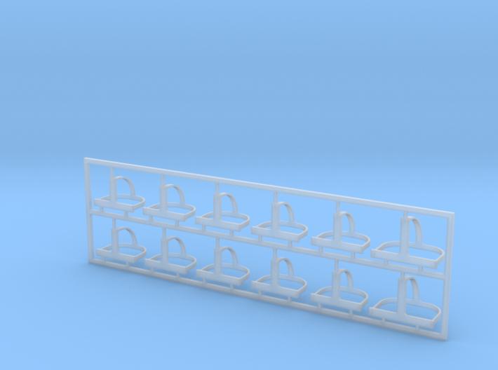 Helmhalter Typ-B 12 Stück 1:35 3d printed
