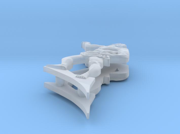 1:90 HMS Victory Stern Figurines 3d printed