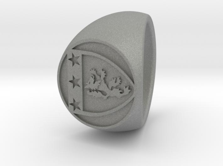 Custom Signet ring 86 3d printed
