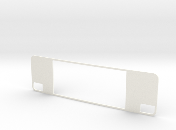VolvoF10-F12 Grille Back Plate 3d printed