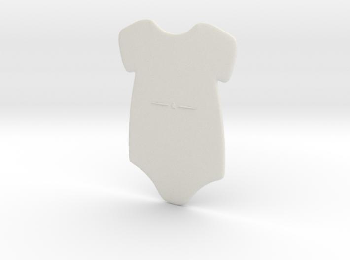 3D Star Onesie 3d printed
