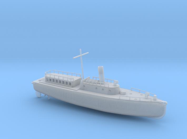 1/144 Scale IJN Boat 17 Meter 3d printed
