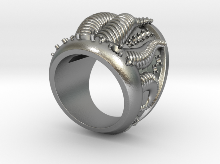 Perseus Ring - Size 12 (21.49 mm) 3d printed