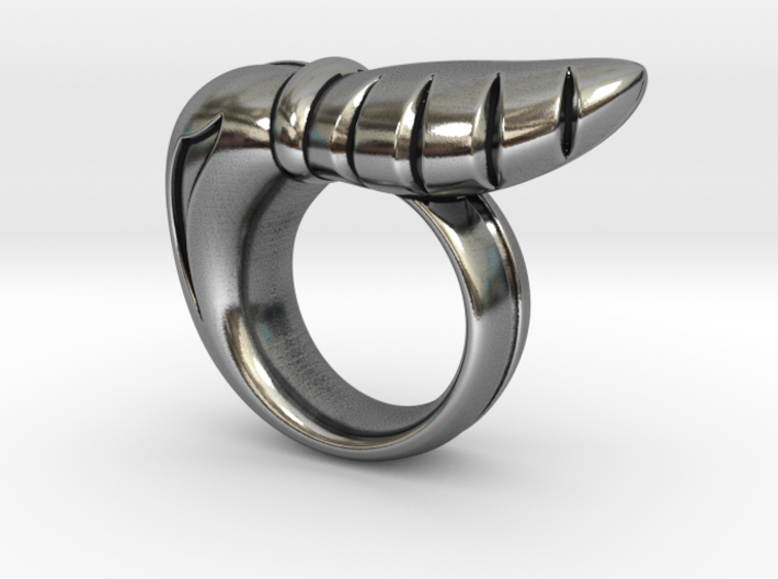 Chrysalis Ring 3 - Size 9 (18.95 mm) 3d printed