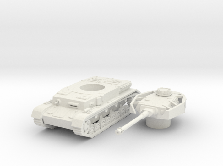 panzer IV H scale 1/87 3d printed