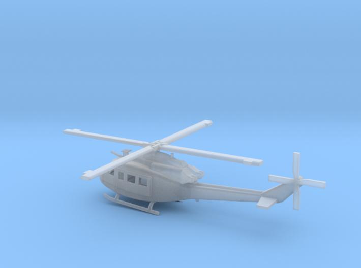 1/72 Scale UH-1Y Model 3d printed