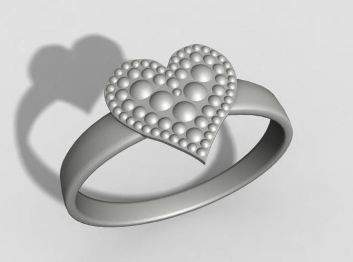 Hearth ring US11 3d printed