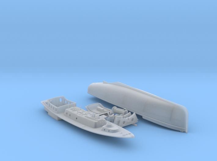 1/144 Royal Navy 50ft Steam Pinnace x1 3d printed 1/144 Royal Navy 50ft Steam Pinnace x1