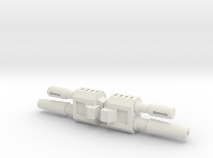 TF Weapon Gun Cannon Smoke Stack Add On 3d printed