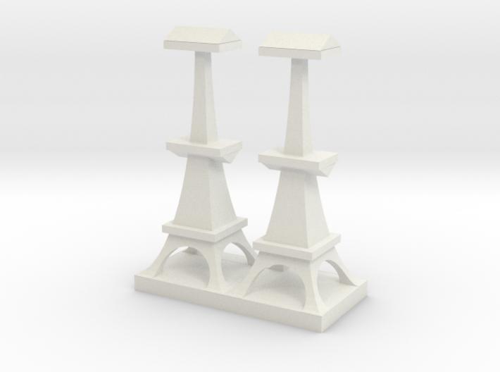 British Radar Tower 3d printed