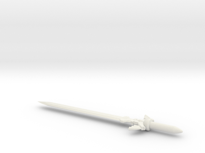 Master Sword for Deluxe Class Transformers 3d printed