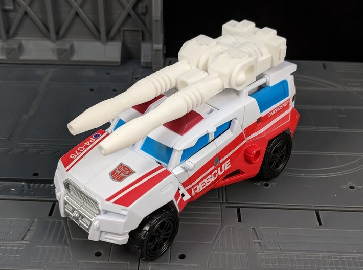 TF CW First Aid XL Car Cannon 3d printed