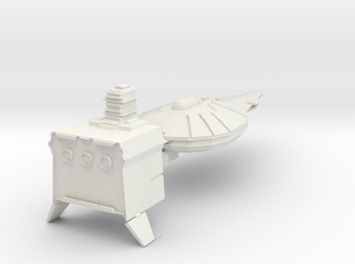 Modular Taskforce cruiser Armada Scale 3d printed