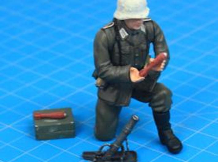 Granatenwerfer 36 - German 5cm Mortar - 1:18 Scale 3d printed