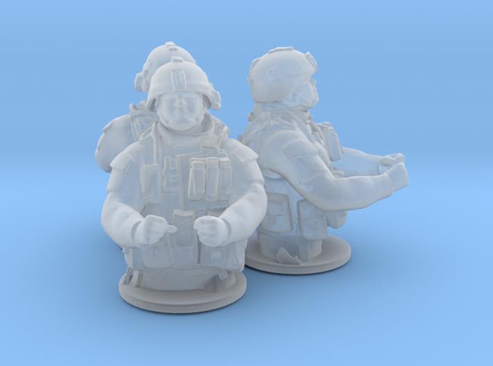 Gunner Ho v1 x3 3d printed