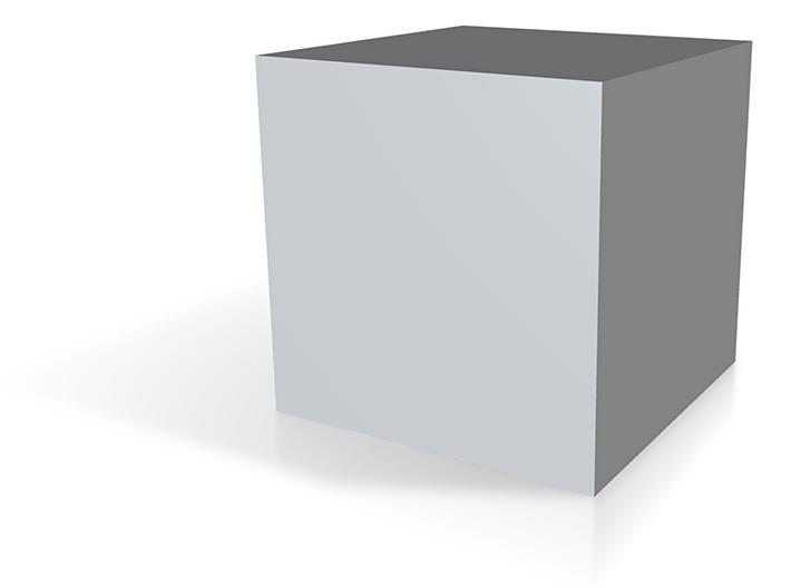Cube 3d printed