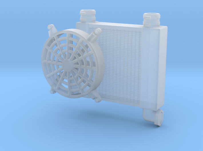Radiator 1/18 misc use 3d printed