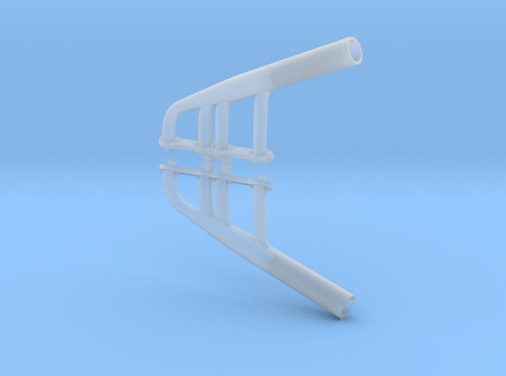 1/25 Y-block Ford Lakes Headers 3d printed