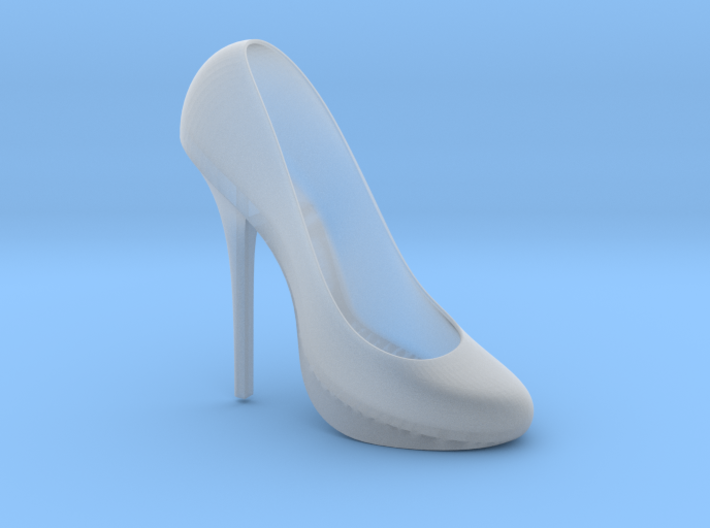 Right Classic Pumps Shoe 3d printed