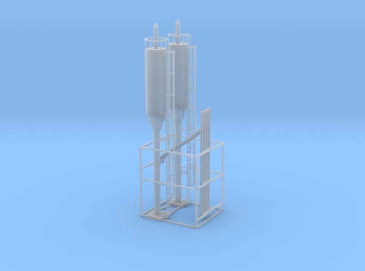Sand towers N scale 3d printed Sanding towers N scale