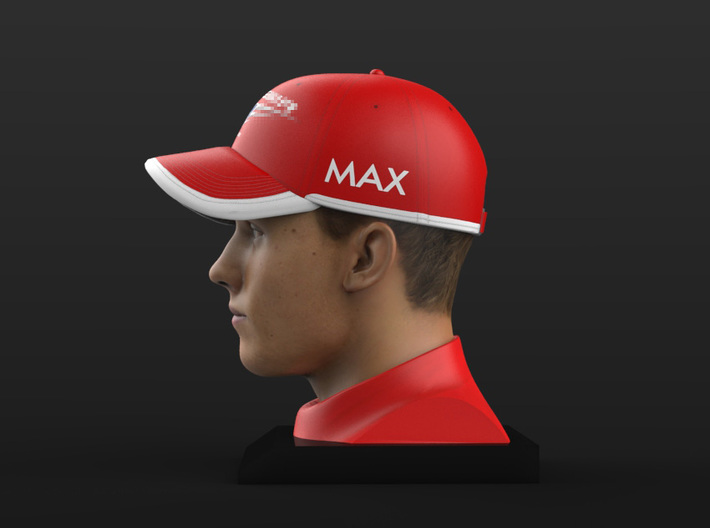 Max 1/4 Head Figure 3d printed