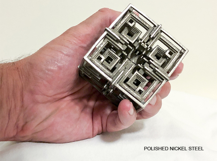 Cube 01 3d printed Cube 01 Hand Held