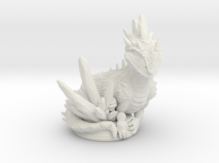 Crystal Dragon 54mm 3d printed