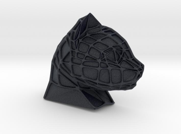 Cat Face + Voronoi Mask (001) 3d printed