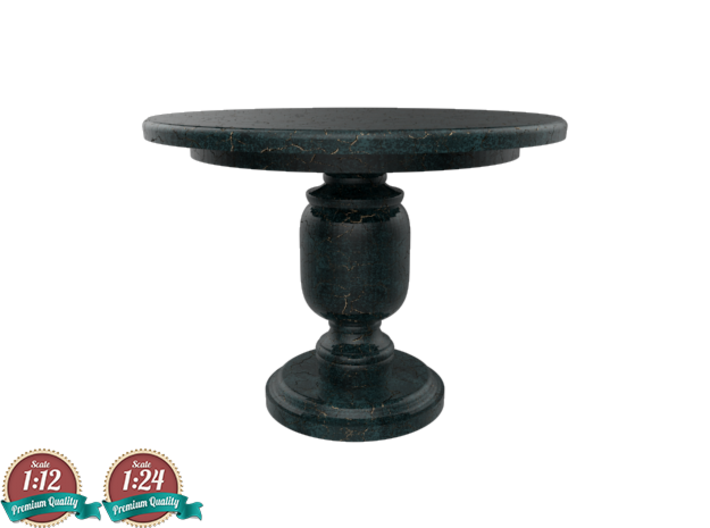 Miniature Leslie Center Table - Gramercy Home 3d printed Miniature Leslie Center Table - Gramercy Home
