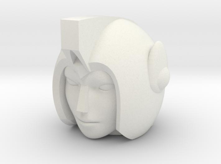 Greenlight Head for POTP Moonracer 3d printed