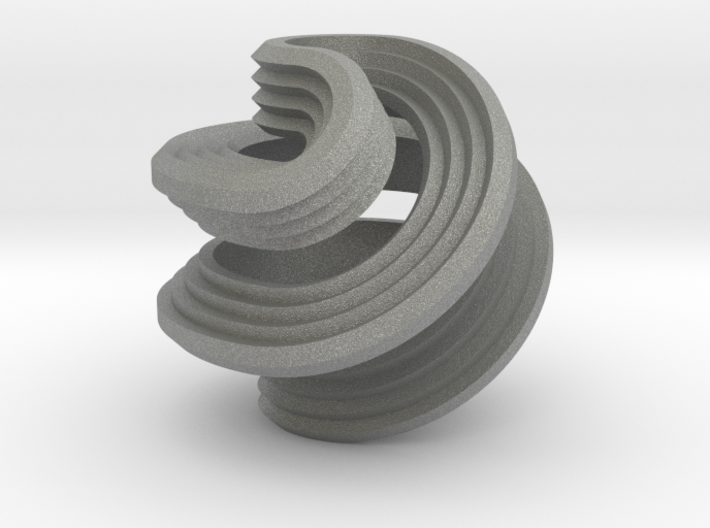 Octasphericon Stepped 3d printed