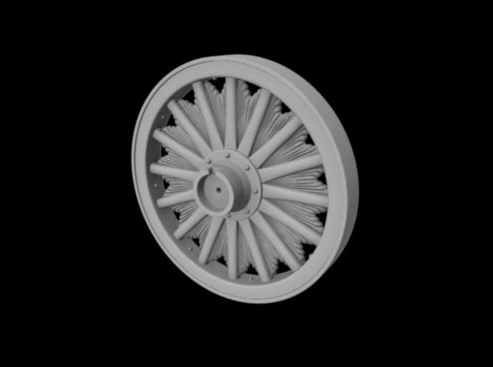 "1/2"" scale 44"" Sunburst wheel. 3d printed"