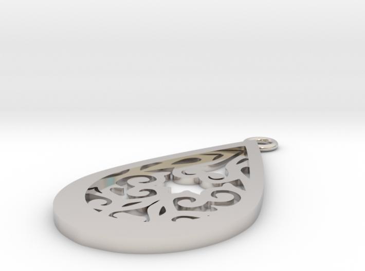 Persephone pendant 3d printed
